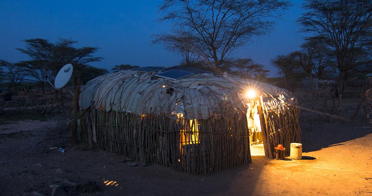 Armut bekämpfen mit Solar