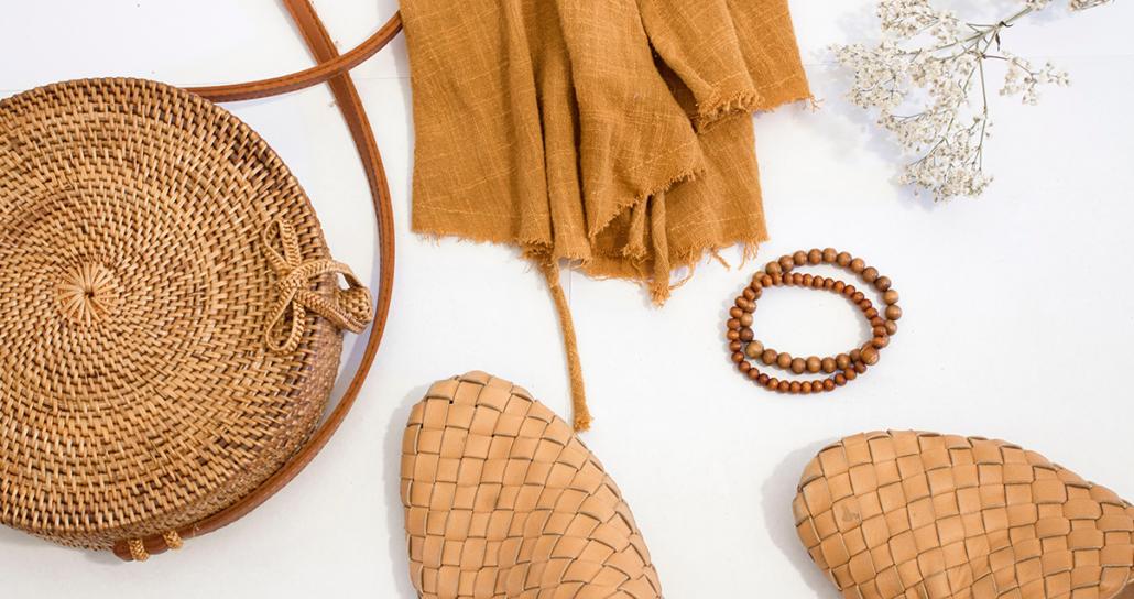Sustainable luxury fashion brand lifestyle
