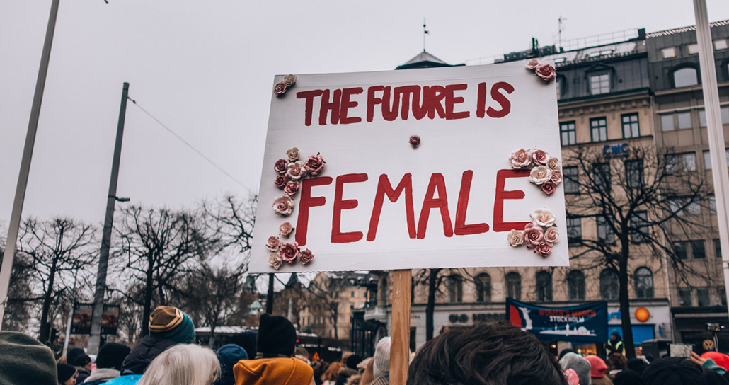 climate change future female