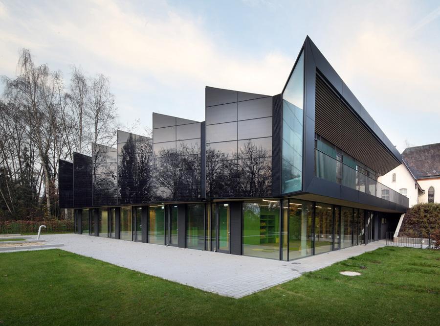 eKitaMarburg-Solarfassaden